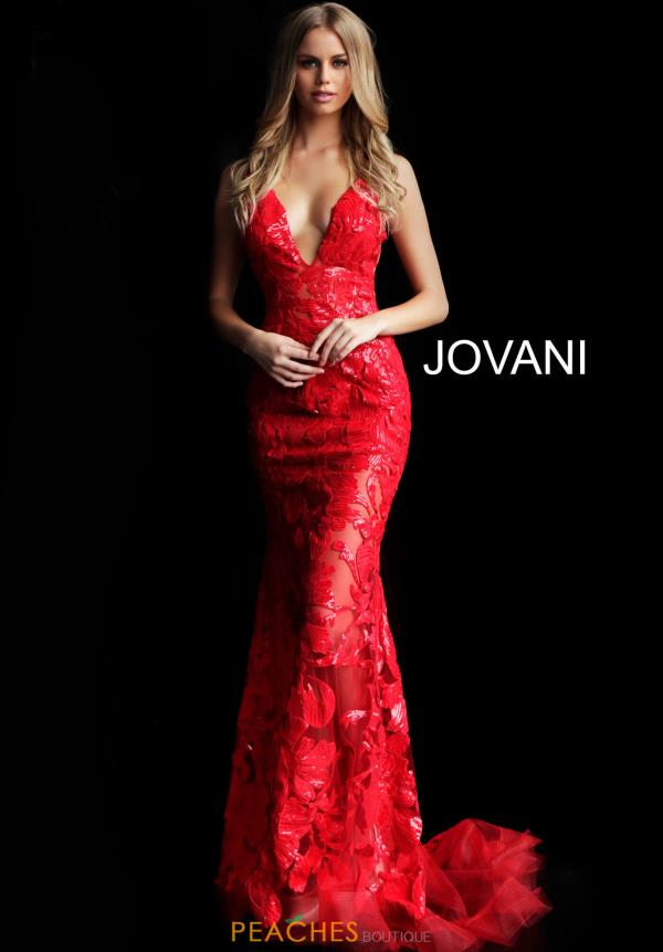 Jovania Sequins Fitted Dress 60283