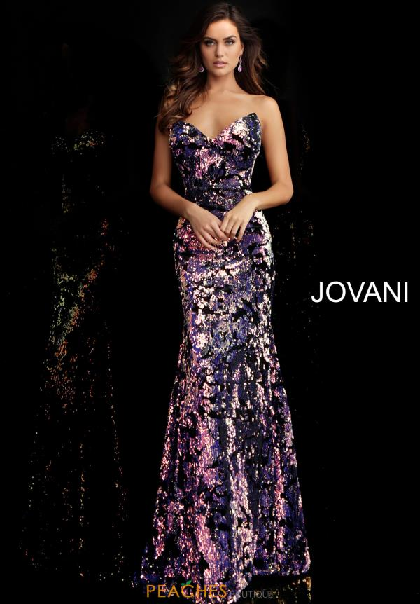 Jovani Sweetheart Sequins Dress 62026