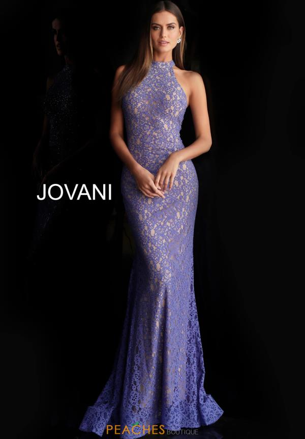 Jovani Halter Fitted Dress 63335