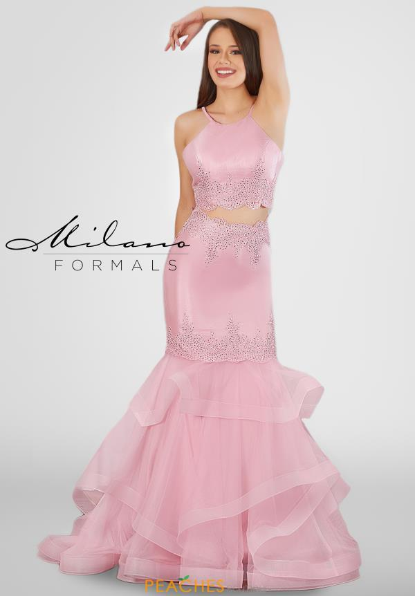 Milano Formals Long Mermaid Dress E2756