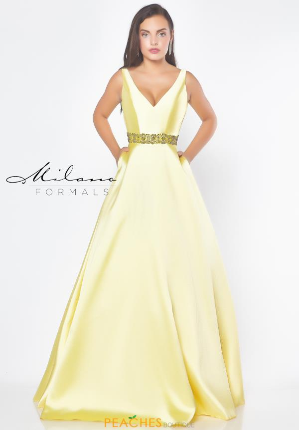 4985633379 Milano Formals Dress E2778