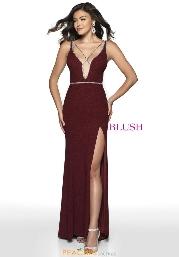Blush Long Sexy Dress 11764