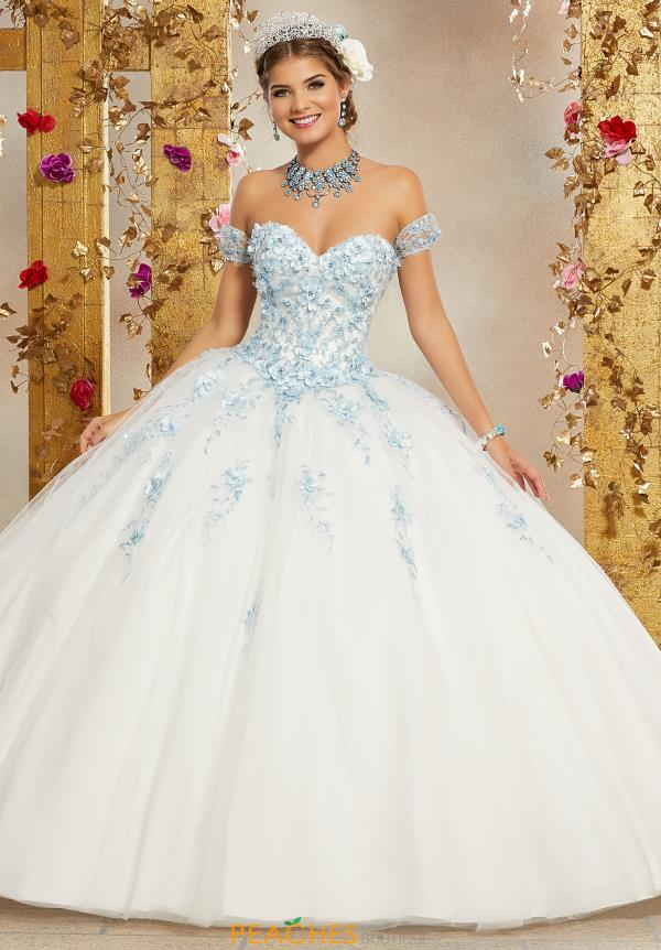 Vizcaya Quinceanera Tulle Skirt Ball Gown 60071