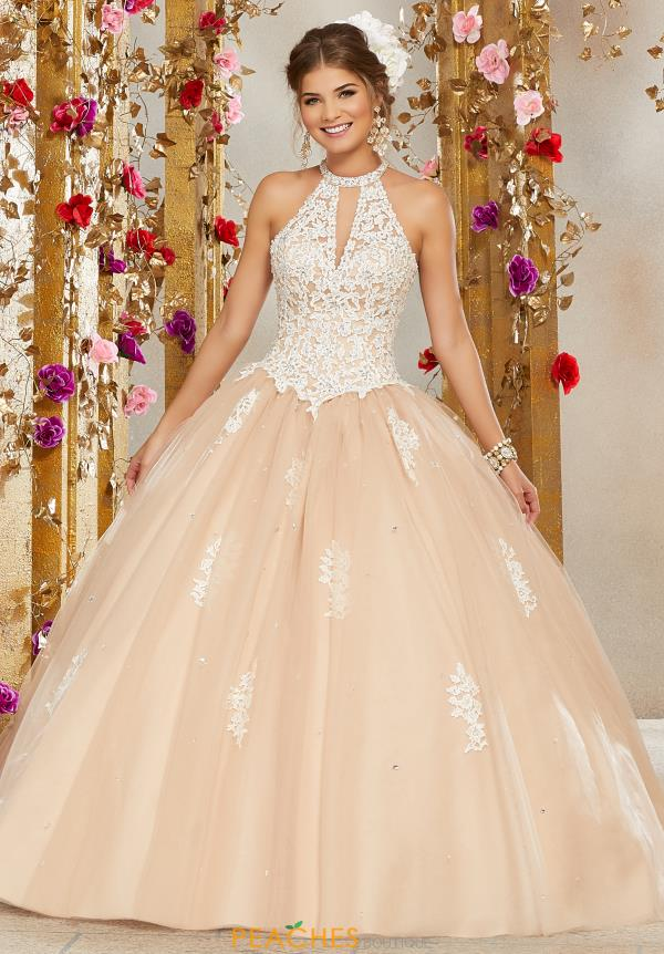 Vizcaya Quinceanera Lace Ball Gown 60072