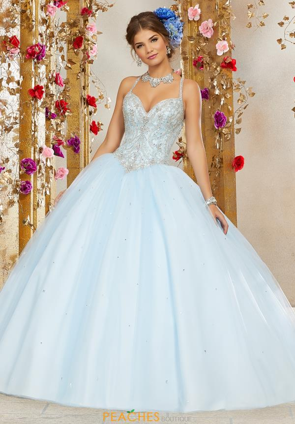 Vizcaya Quinceanera Tulle Skirt Ball Gown 60073