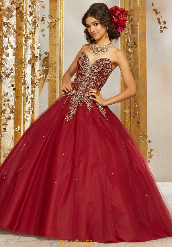 Vizcaya Quinceanera Strapless Ball Gown 60074