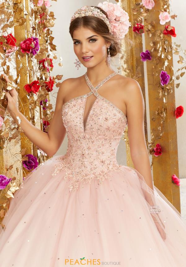 Vizcaya Quinceanera Beaded Ball Gown 60077