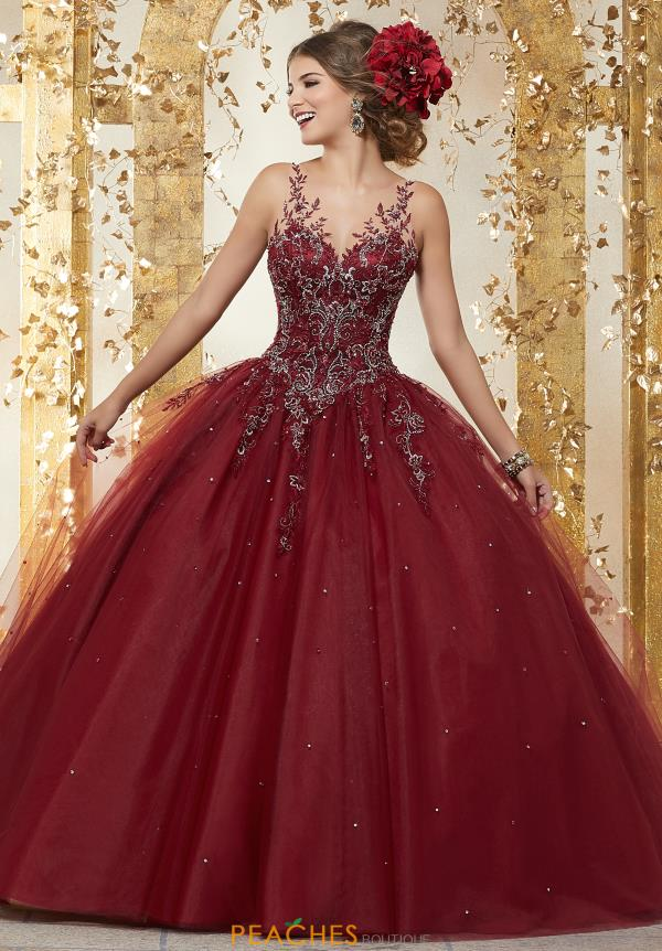 Vizcaya Quinceanera Tulle Skirt Ball Gown 89223