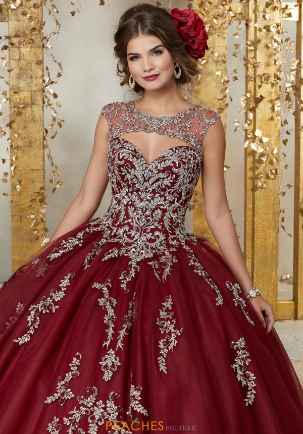 Vizcaya Quinceanera Tulle Skirt Ball Gown 89225