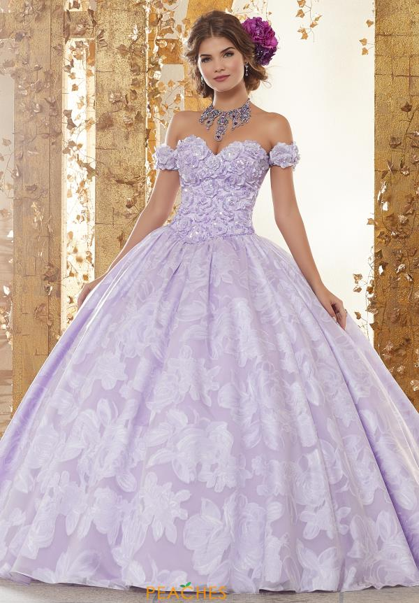 Vizcaya Quinceanera Long Lace Ball Gown 89232