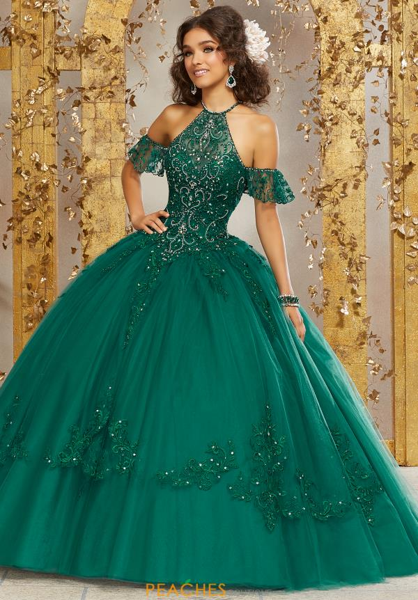Vizcaya Quinceanera Tulle Skirt Ball Gown 89234