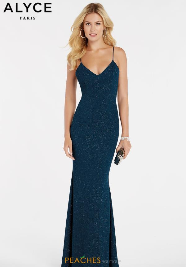Alyce Paris Jersey Long Dress 60292
