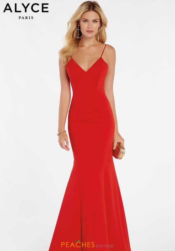 Alyce Paris Mermaid Long Dress 60293