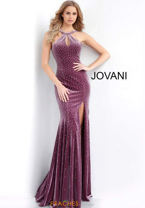 Jovani Halter Fitted Dress 63935