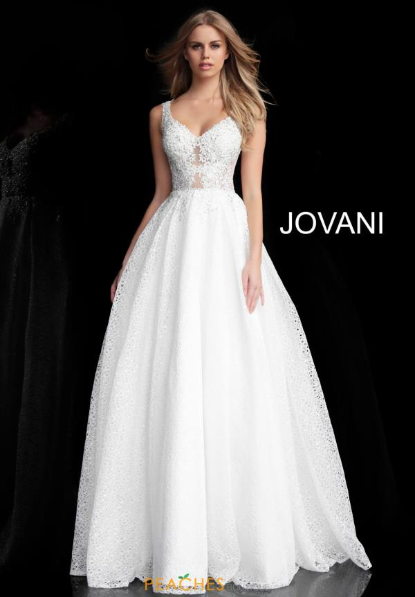Jovani Applique Full Figured Dress 64105
