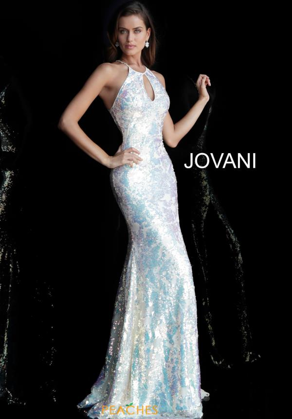 Jovani Sequins Fitted Dress 65392