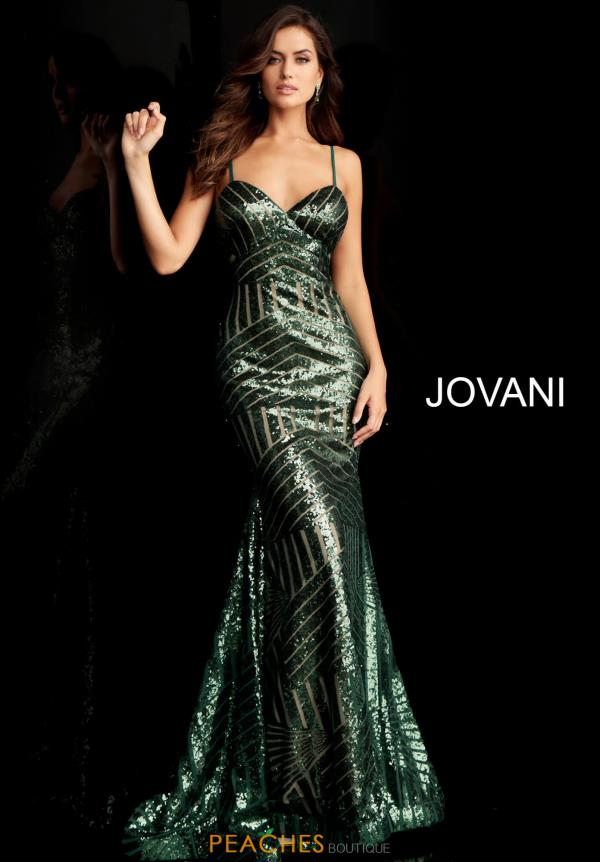 Jovani Sweetheart Sequins Dress 65409