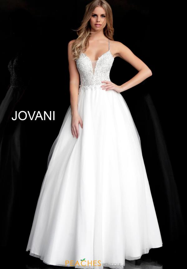 Jovani Long A Line Dress 65911