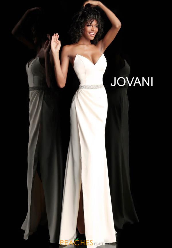 Jovani Fitted Strapless Dress 66683