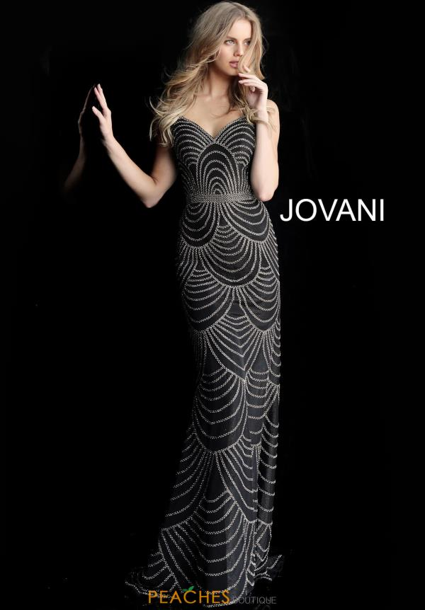 Jovani Sweetheart Beaded Dress 66967