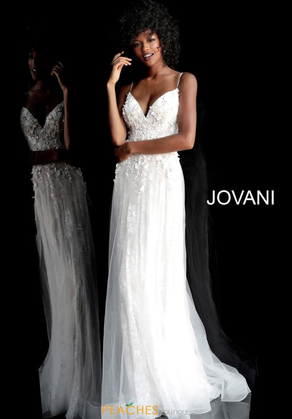 Jovani Applique Full Figured Dress 67033