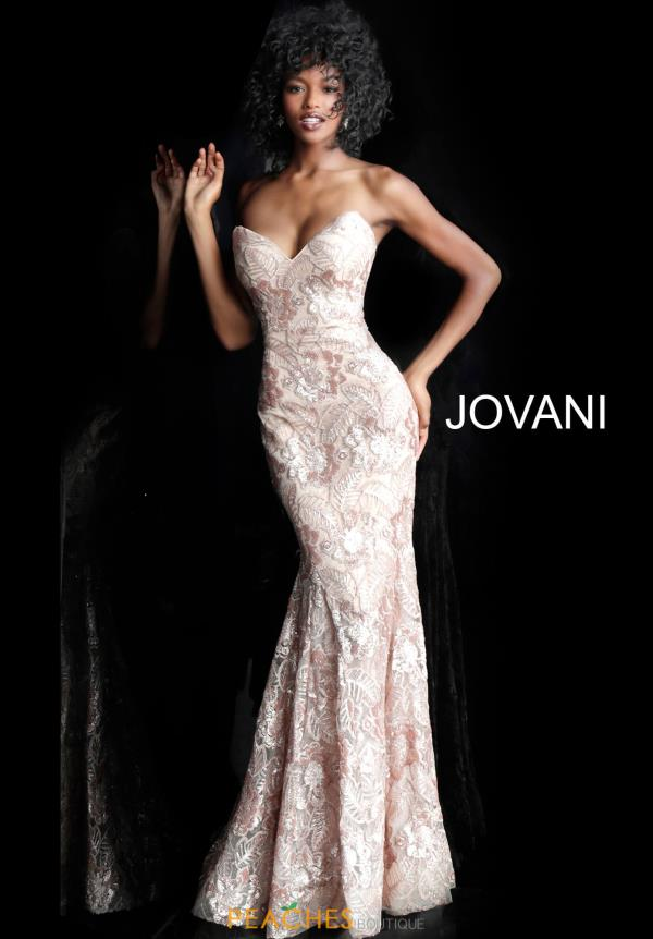 Jovani Sequins Sweetheart Dress 67331