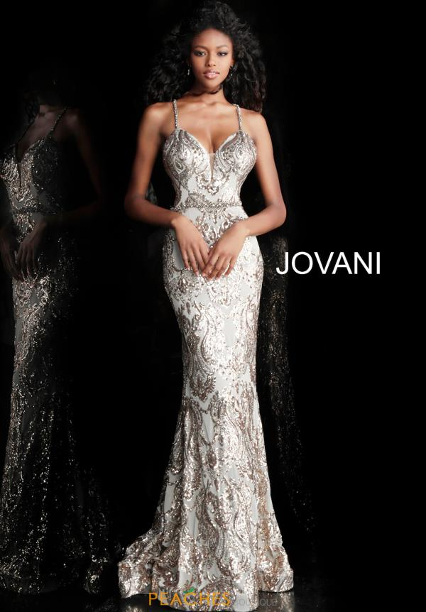Jovani Sequins Fitted Dress 67347