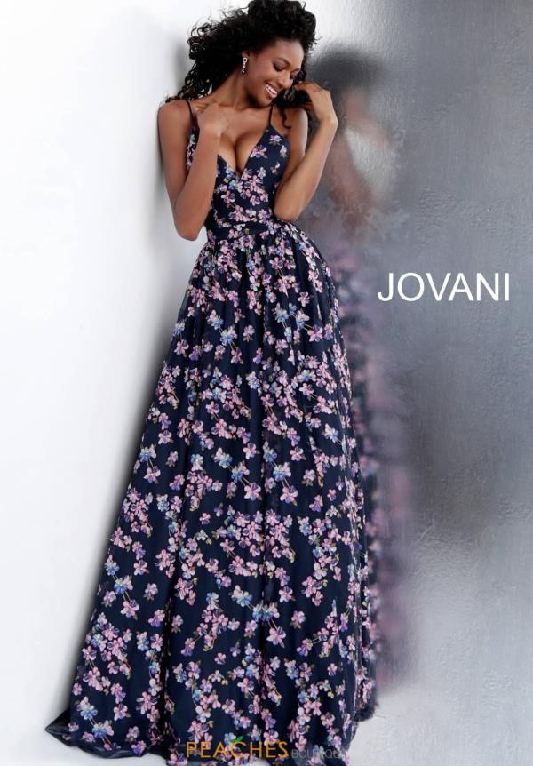 Jovani A Line Embroided Dress 67414