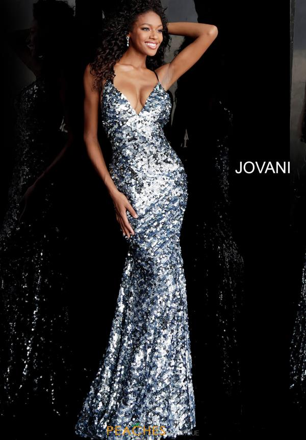 Jovani Sequins Fitted Dress 67448