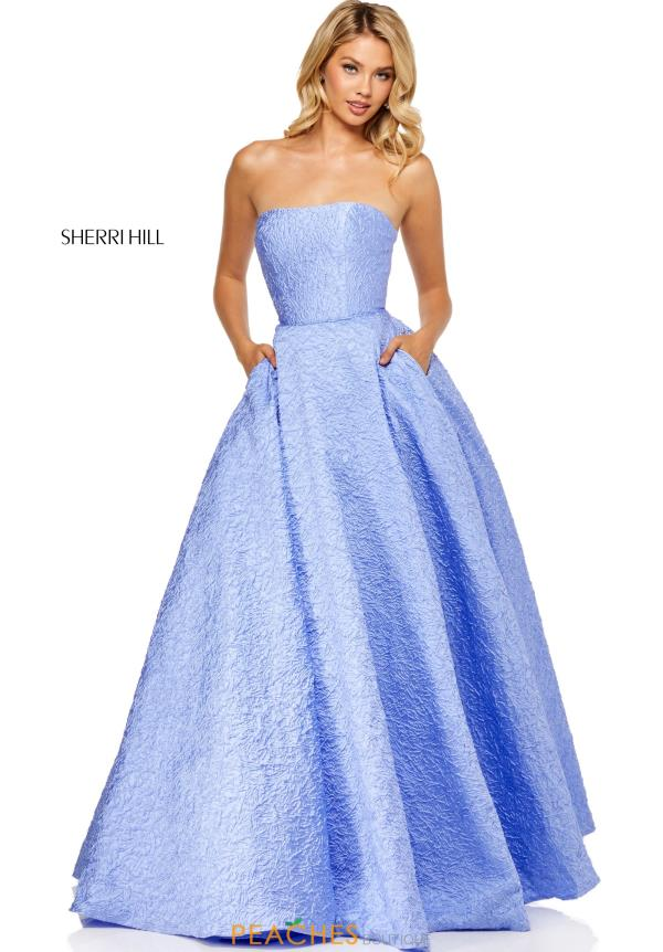 Sherri Hill Brocade Ball Gown 52681