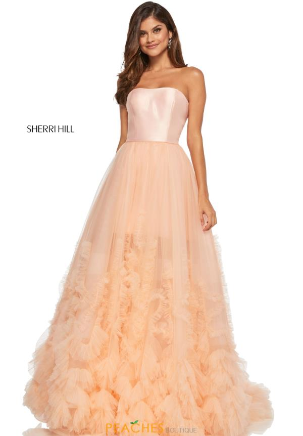 Sherri Hill Tulle Ball Gown 52693