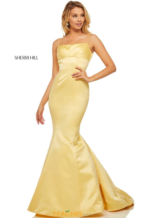 Sherri Hill Scoop Mermaid Dress 52721