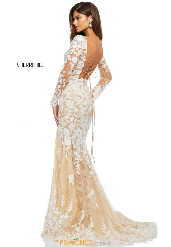 Sherri Hill Fitted Lace Dress 52742