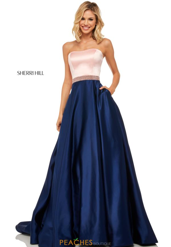 Sherri Hill Two Piece A Line Dress 52776