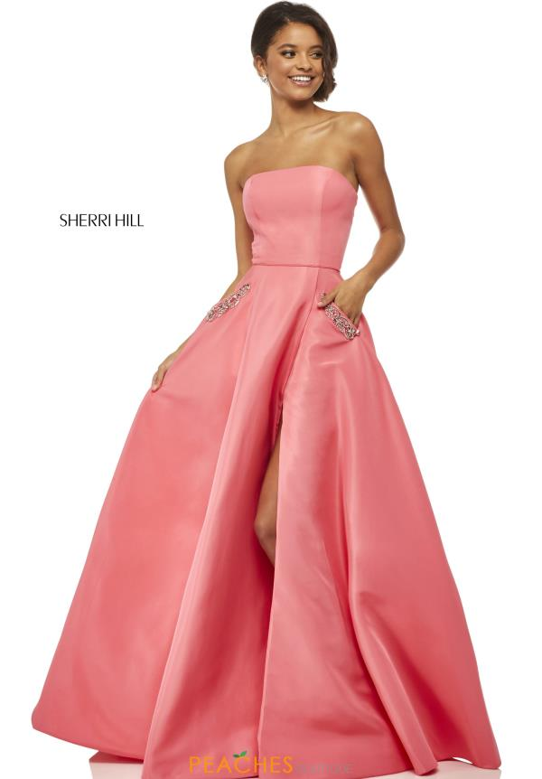 Sherri Hill Long A Line Dress 52871