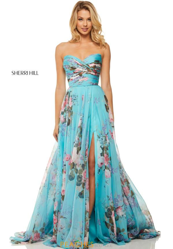 Sherri Hill Long A Line Dress 52872