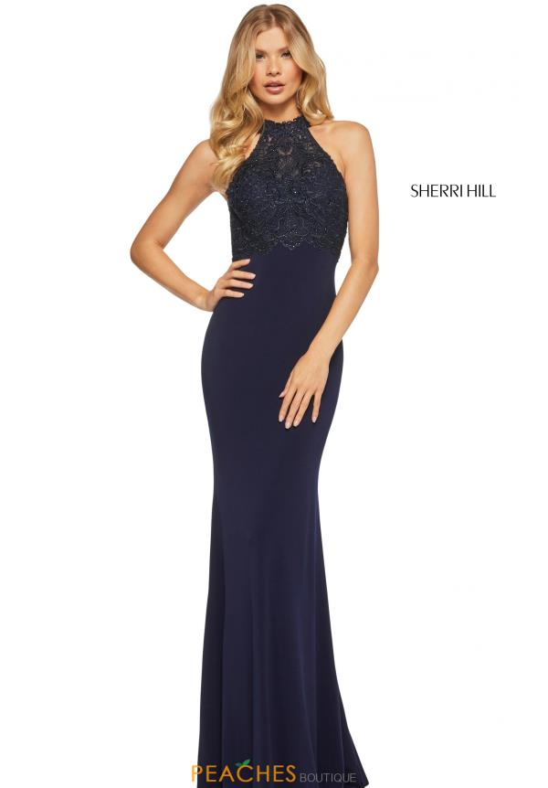 Sherri Hill Sexy Open Back Dress 52901