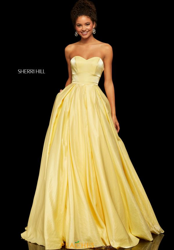 Sherri Hill Full Figured Sweetheart Dress 52456