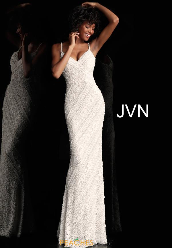 JVN by Jovani Long Beaded Dress JVN62488