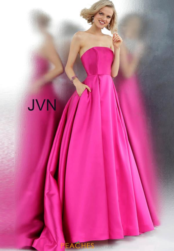 JVN by Jovani Strapless A Line Dress JVN62633