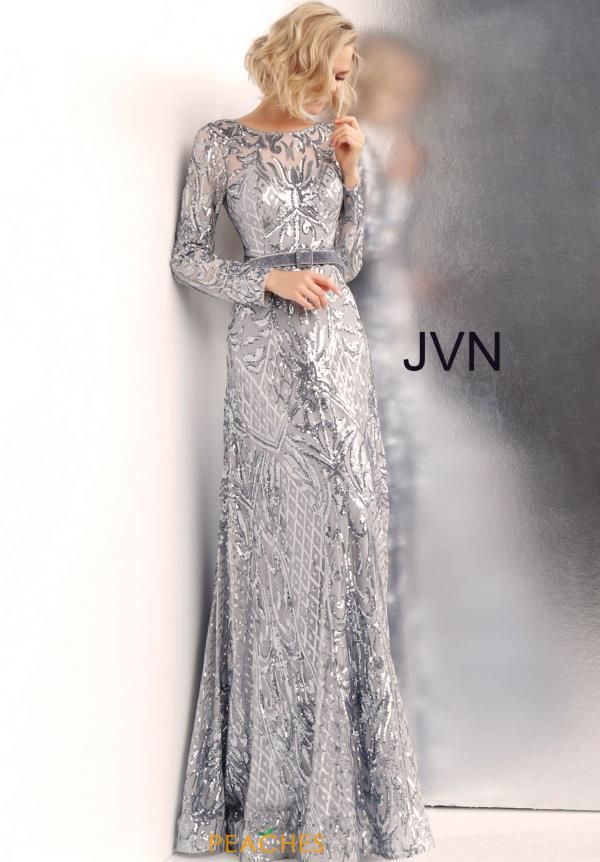JVN by Jovani Long Sequins Dress JVN62711
