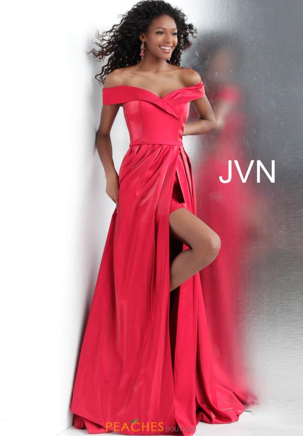 JVN by Jovani Long A Line Dress JVN64244