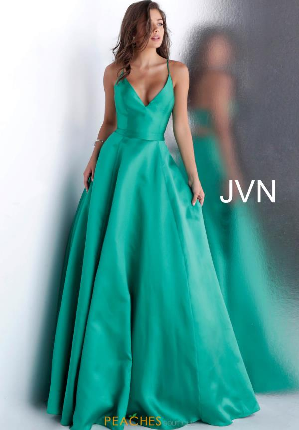 JVN by Jovani Long A Line Dress JVN66673
