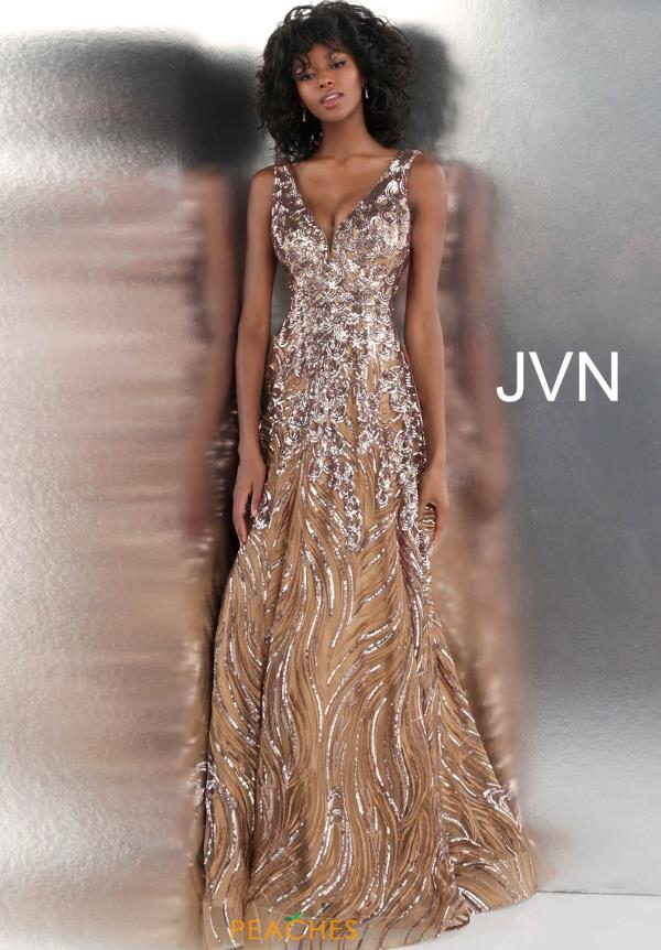 JVN by Jovani Long Sequins Dress JVN66727