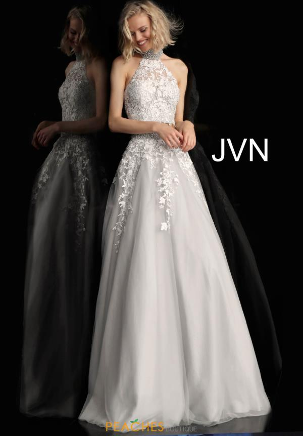 JVN by Jovani Long A Line Dress JVN68259