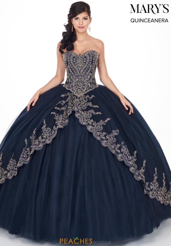 Mary's Strapless Ball Gown MQ1035