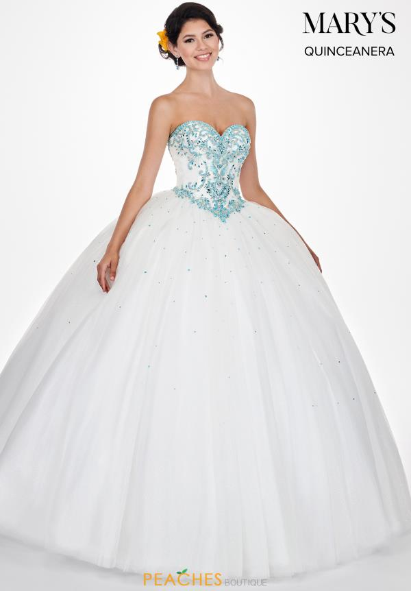 Mary's Strapless Ball Gown MQ1040