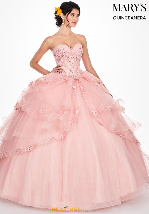 Mary's Strapless Ball Gown MQ2046