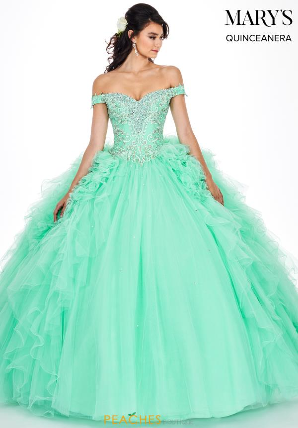 Mary's Beaded Ball Gown MQ2048
