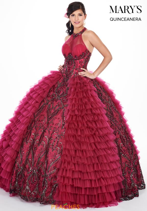 Mary's Lace Ball Gown MQ2050